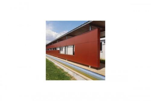 Lucrari, proiecte Placaje HPL pentru fatade ventilate - Proiectul School UFRAPS de Poitiers, Franta TRESPA - Poza 3