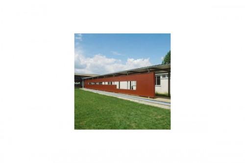 Lucrari de referinta Placaje HPL pentru fatade ventilate - Proiectul School UFRAPS de Poitiers, Franta TRESPA - Poza 4