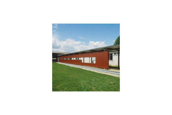 Lucrari, proiecte Placaje HPL pentru fatade ventilate - Proiectul School UFRAPS de Poitiers,