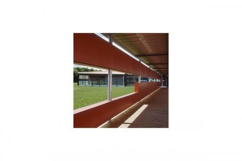 Lucrari, proiecte Placaje HPL pentru fatade ventilate - Proiectul School UFRAPS de Poitiers, Franta TRESPA - Poza 5