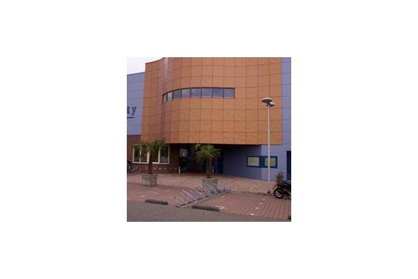 Placaje HPL pentru fatade ventilate - Proiectul Sportsfacility, Almelo, Olanda TRESPA - Poza 1