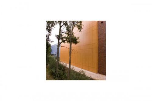 Lucrari, proiecte Placaje HPL pentru fatade ventilate - Proiectul Sportsfacility, Almelo, Olanda TRESPA - Poza 2