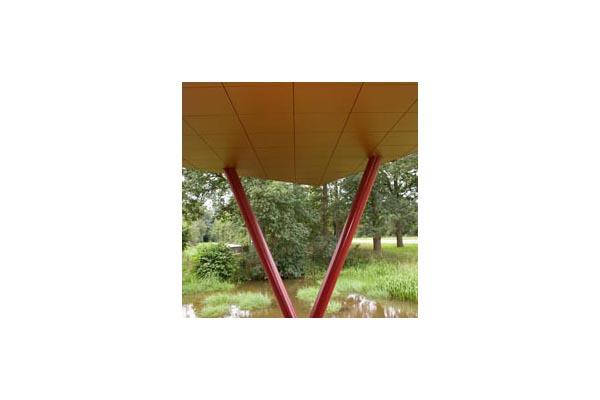 Lucrari, proiecte Placaje HPL pentru fatade ventilate - Proiectul Sportsfacility, Almelo,