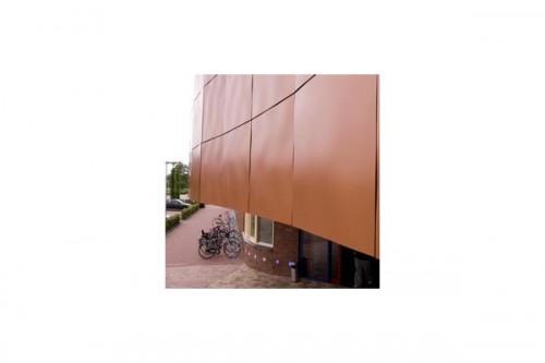 Lucrari de referinta Placaje HPL pentru fatade ventilate - Proiectul Sportsfacility, Almelo, Olanda TRESPA - Poza 5