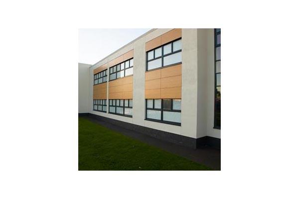 Placaje HPL pentru fatade ventilate - Proiectul Stockley Academy, Uxbridge, Anglia TRESPA - Poza 3