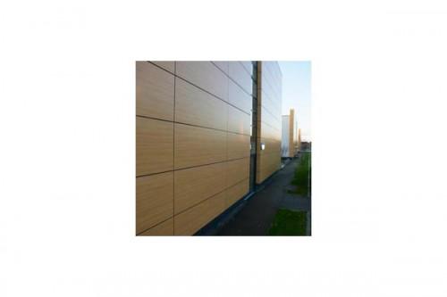 Lucrari de referinta Placaje HPL pentru fatade ventilate - Proiectul Stockley Academy, Uxbridge, Anglia TRESPA - Poza 4