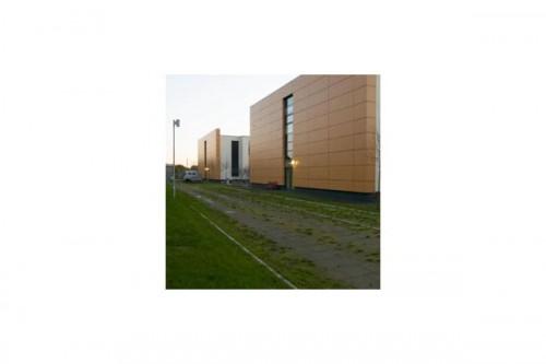 Lucrari de referinta Placaje HPL pentru fatade ventilate - Proiectul Stockley Academy, Uxbridge, Anglia TRESPA - Poza 5