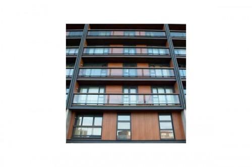 Lucrari de referinta Placaje HPL pentru fatade ventilate - Proiectul The Sphere, Londra, Anglia TRESPA - Poza 1