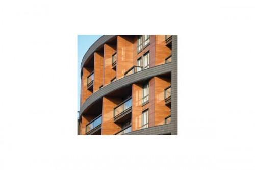 Lucrari, proiecte Placaje HPL pentru fatade ventilate - Proiectul The Sphere, Londra, Anglia TRESPA - Poza 2