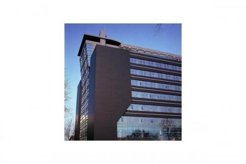 Lucrari de referinta Placaje HPL pentru fatade ventilate - Proiectul Weather bureau Beijing, Beijing, China TRESPA - Poza 1