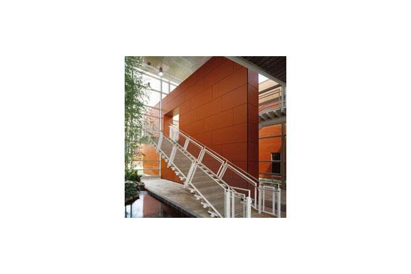 Placaje HPL pentru fatade ventilate - Proiectul William Rainey Harper College, SUA TRESPA - Poza 9