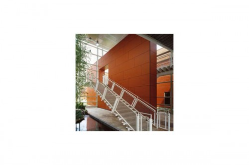 Lucrari de referinta Placaje HPL pentru fatade ventilate - Proiectul William Rainey Harper College, SUA TRESPA - Poza 9