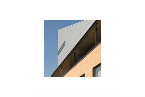 Lucrari de referinta Placaje HPL pentru fatade ventilate - Proiectul Zero+, Lummen, Belgia TRESPA - Poza 3