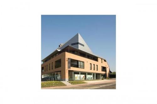 Lucrari de referinta Placaje HPL pentru fatade ventilate - Proiectul Zero+, Lummen, Belgia TRESPA - Poza 4
