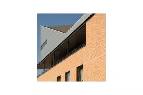 Lucrari de referinta Placaje HPL pentru fatade ventilate - Proiectul Zero+, Lummen, Belgia TRESPA - Poza 5