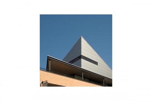 Lucrari de referinta Placaje HPL pentru fatade ventilate - Proiectul Zero+, Lummen, Belgia TRESPA - Poza 6