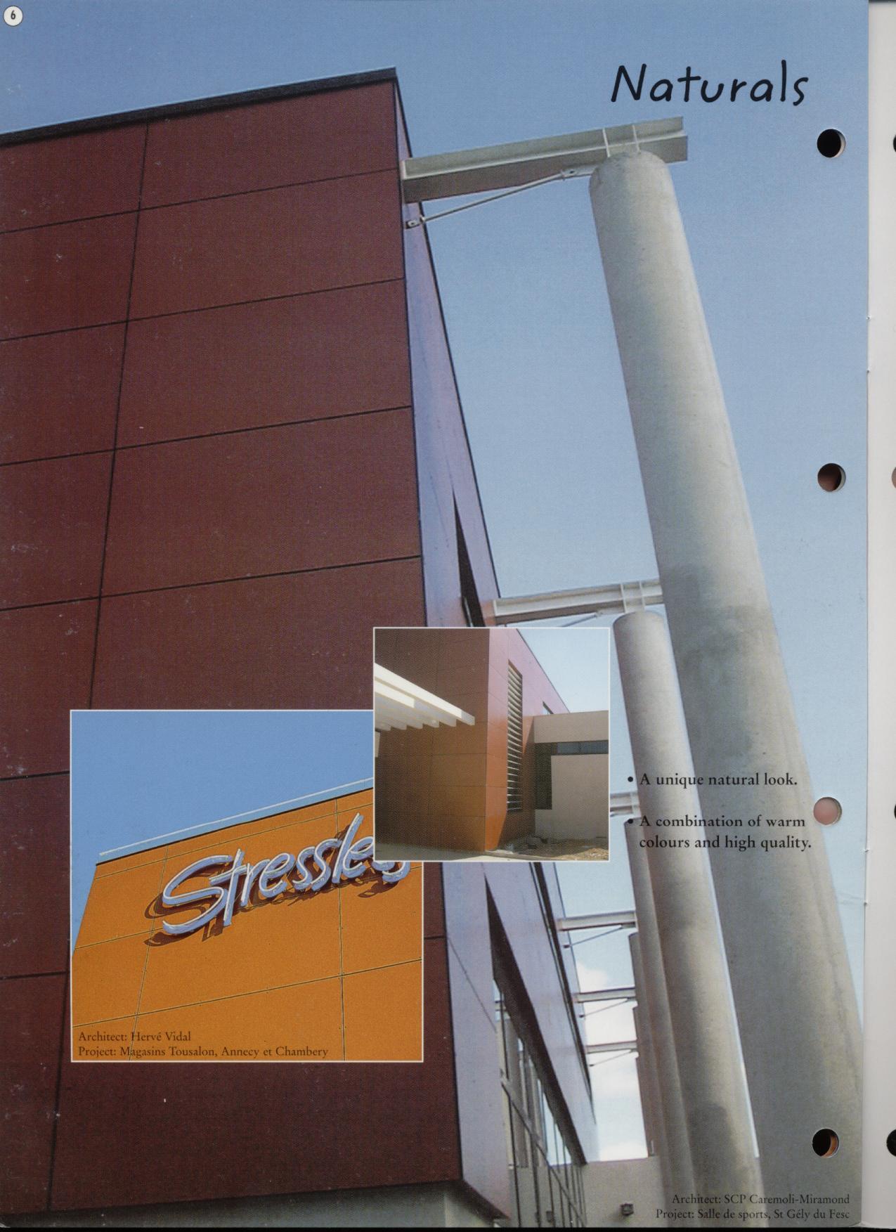 Sisteme de panouri pentru fatade ventilate TRESPA - Poza 1