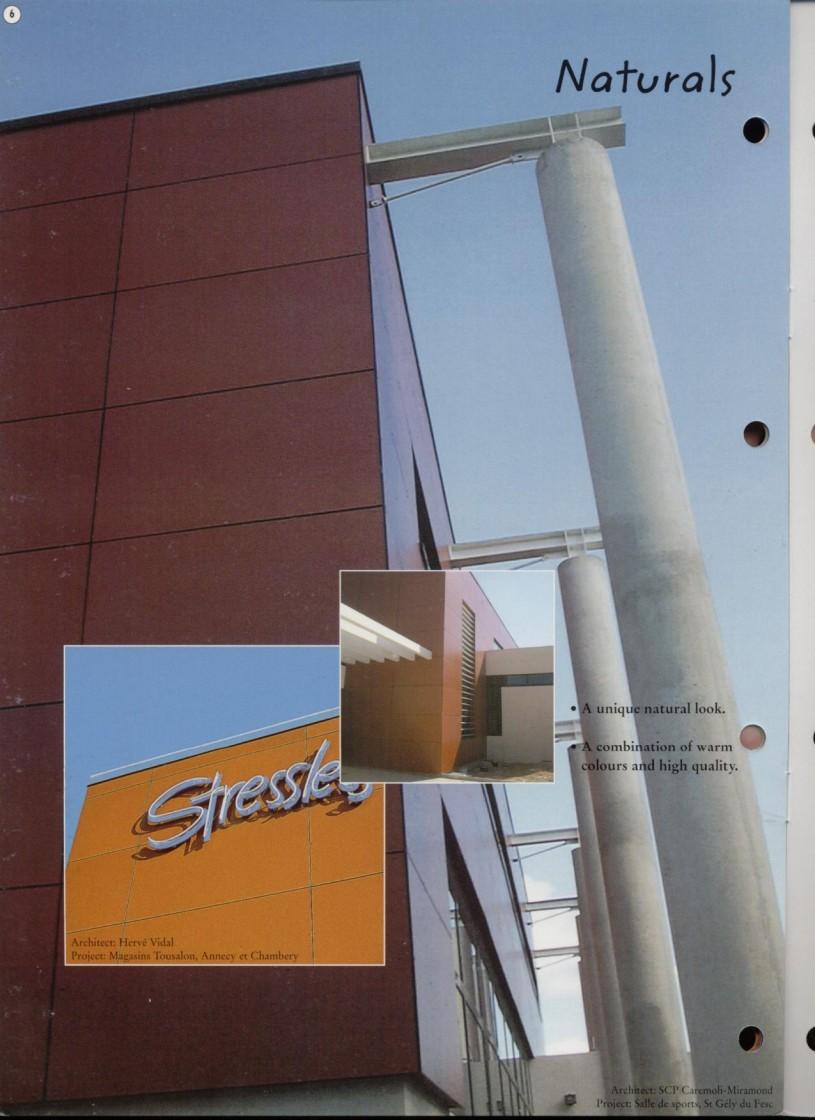Prezentare produs Sisteme de panouri pentru fatade ventilate TRESPA - Poza 1