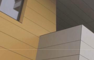 Placi HPL pentru fatade ventilate Gamele TRESPA au fost create special pentru a oferi arhitectilor posibilitatea  folosirii unor elemente decorative care sa integreze placut cladirile in cadrul natural.
