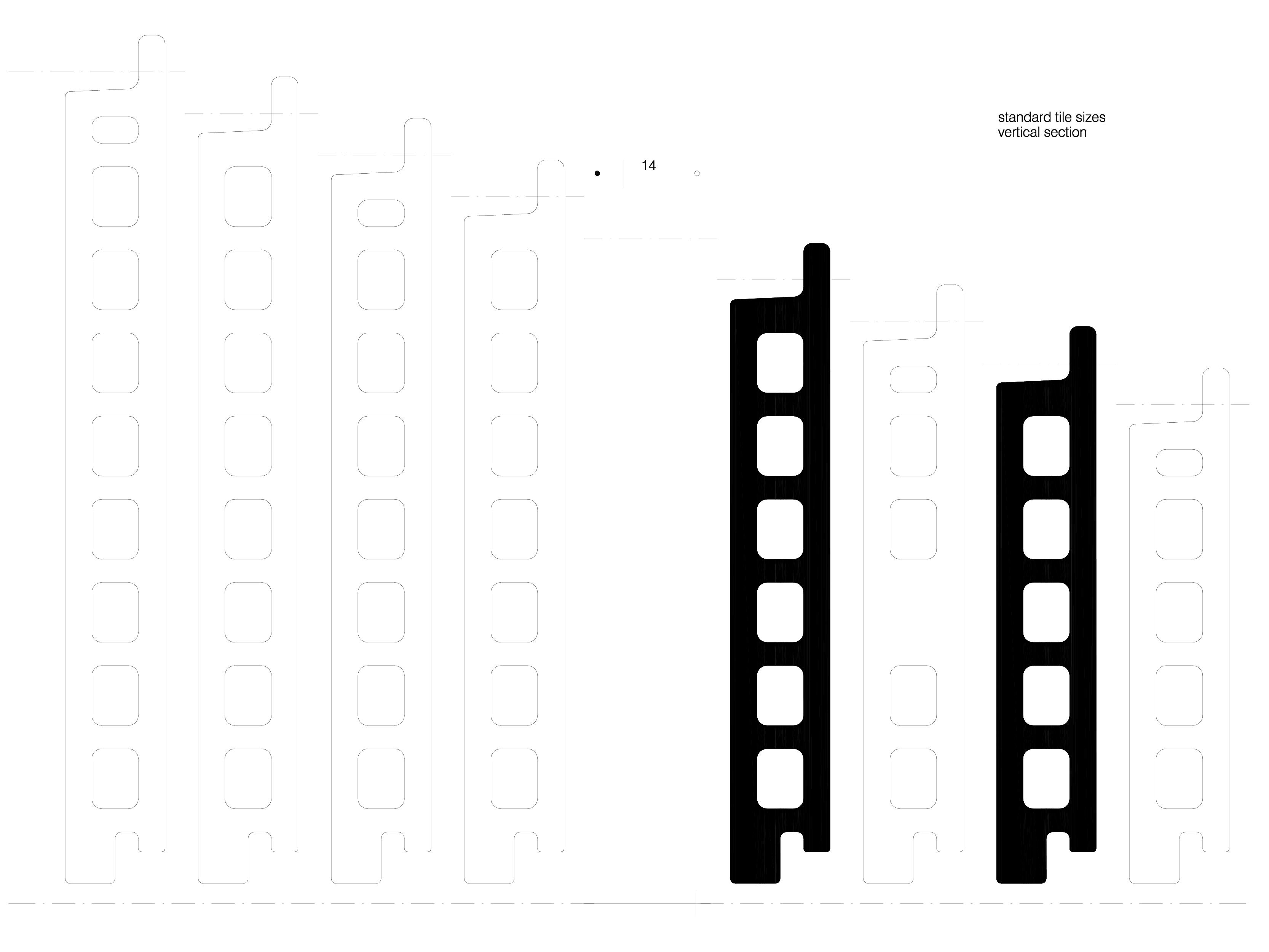Pagina 1 - CAD-DWG Placaje ceramice pentru fatada - Sectiune verticala ALPHATON Detaliu de produs...