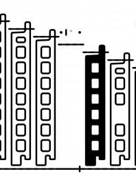 Placaje ceramice pentru fatada - Sectiune verticala