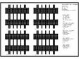 Placaje ceramice pentru fatada - Montaj orizontal - Exemple de design (Stereotomie) ALPHATON - ALPHATON