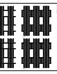 Placaje ceramice pentru fatada - Montaj orizontal - Exemple de design (Stereotomie)