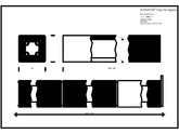 Placaje ceramice pentru fatada - Baghete de dimensiuni standard - Plan si sectiune verticala ALPHATON