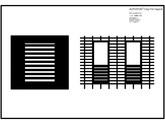 Placaje ceramice pentru fatada - Montaj orizontal - Exemple de design (Stereotomie) pentru fatada cu baghete ALPHATON