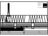 Placaje ceramice pentru fatada - Montaj orizontal pe structura de aluminiu - Sectiune orizontala ALPHATON