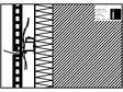 Placaje ceramice pentru fatada - Montaj orizontal pe structura de aluminiu - Sectiune verticala cu schema