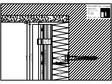 Sisteme de placaje ceramice pentru fatada - Montaj orizontal pe structura de aluminiu - Sectiune verticala