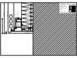 Placaje ceramice pentru fatada - Montaj orizontal pe structura de aluminiu - Sectiune verticala racord la