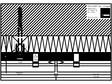 Placaje ceramice pentru fatada - Montaj orizontal pe structura de lemn - Sectiune orizontala ALPHATON -