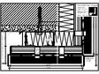 Sisteme de placaje ceramice pentru fatada - Montaj orizontal pe structura de aluminiu - Detaliu de