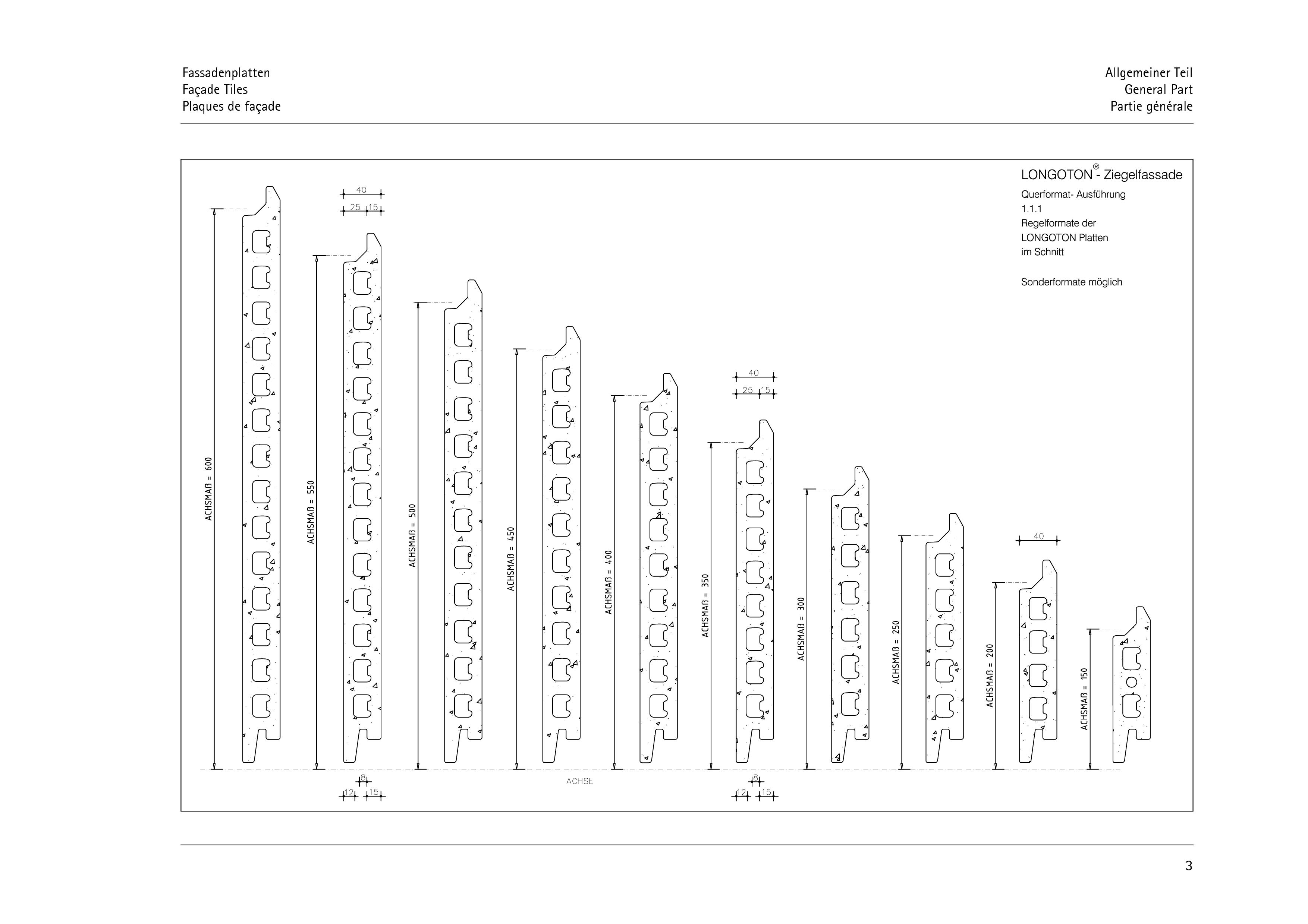 Pagina 3 - CAD-PDF Sisteme de placaje ceramice pentru fatada  ALPHATON Detaliu de montaj LONGOTON