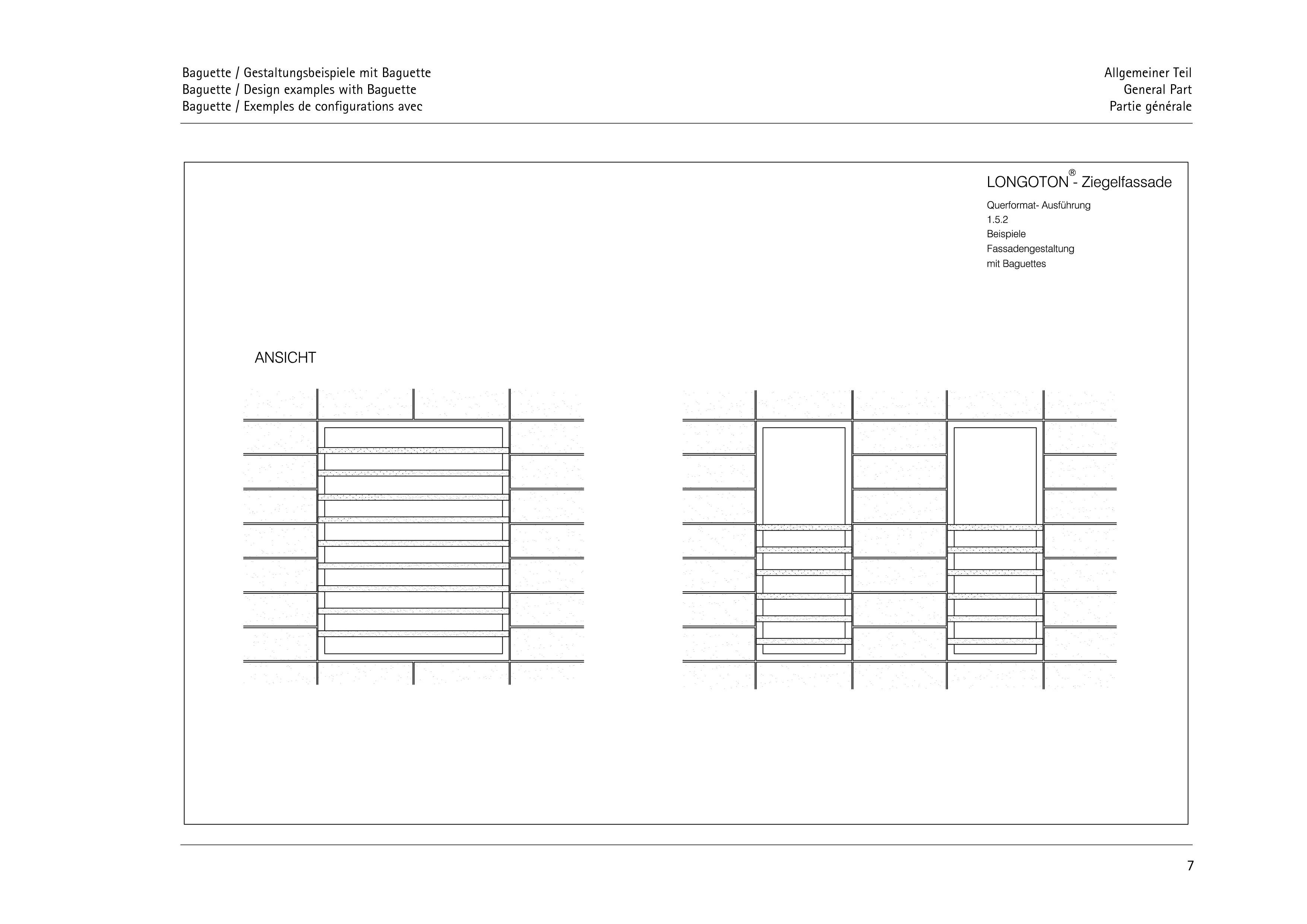 Pagina 7 - CAD-PDF Sisteme de placaje ceramice pentru fatada  ALPHATON Detaliu de montaj LONGOTON