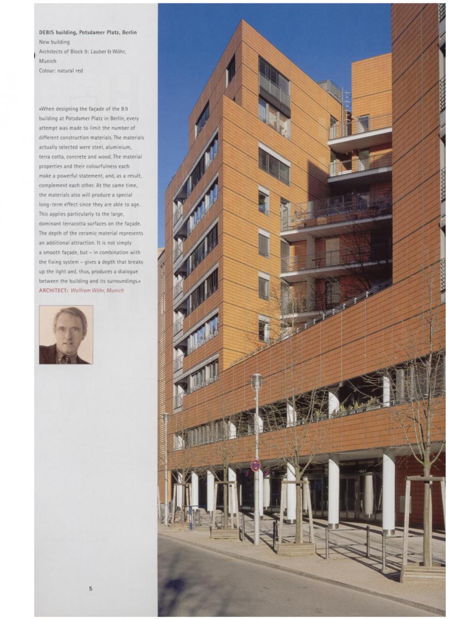 Pagina 2 - Sisteme de placaje ceramice pentru fatada ALPHATON ALPHATON Lucrari, proiecte Engleza