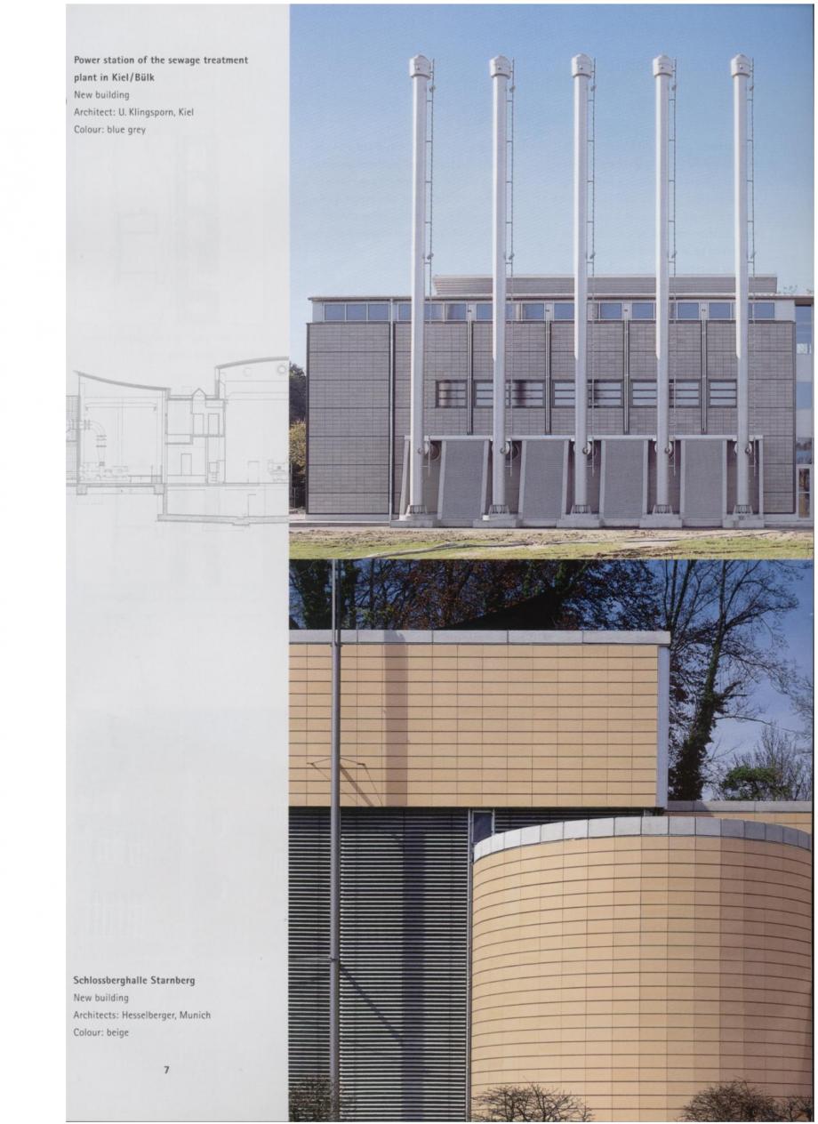 Pagina 3 - Sisteme de placaje ceramice pentru fatada ALPHATON ALPHATON Lucrari, proiecte Engleza