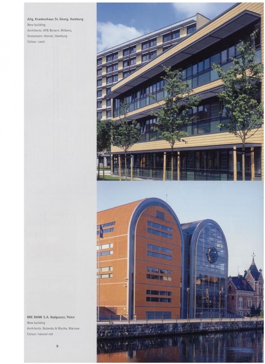 Pagina 4 - Sisteme de placaje ceramice pentru fatada ALPHATON ALPHATON Lucrari, proiecte Engleza