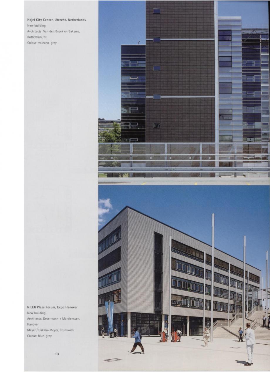 Pagina 7 - Sisteme de placaje ceramice pentru fatada ALPHATON ALPHATON Lucrari, proiecte Engleza