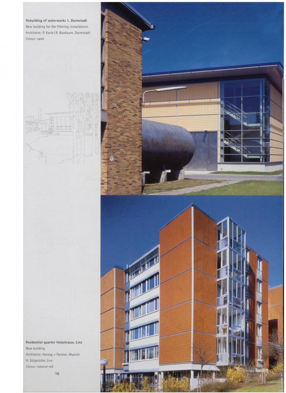 Pagina 8 - Sisteme de placaje ceramice pentru fatada ALPHATON ALPHATON Lucrari, proiecte Engleza