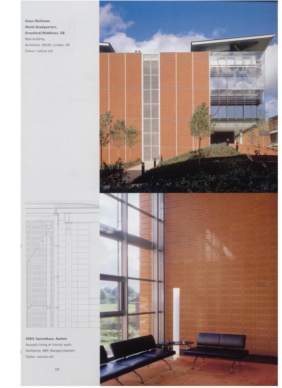 Pagina 9 - Sisteme de placaje ceramice pentru fatada ALPHATON ALPHATON Lucrari, proiecte Engleza