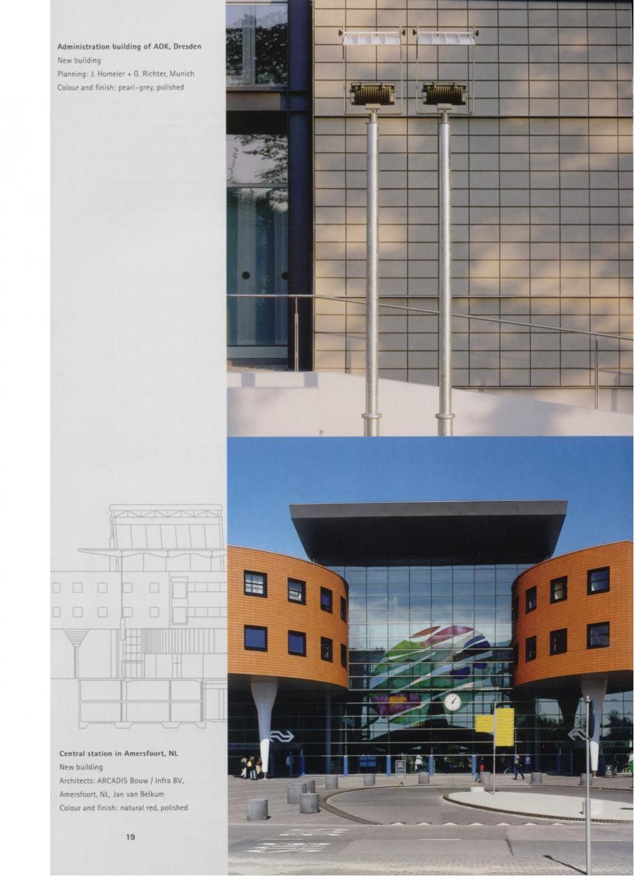 Pagina 10 - Sisteme de placaje ceramice pentru fatada ALPHATON ALPHATON Lucrari, proiecte Engleza