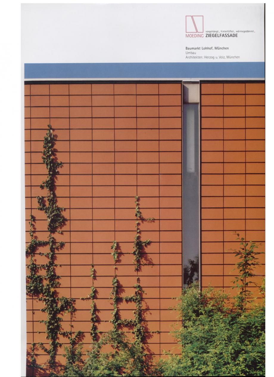 Pagina 13 - Sisteme de placaje ceramice pentru fatada ALPHATON ALPHATON Lucrari, proiecte Engleza