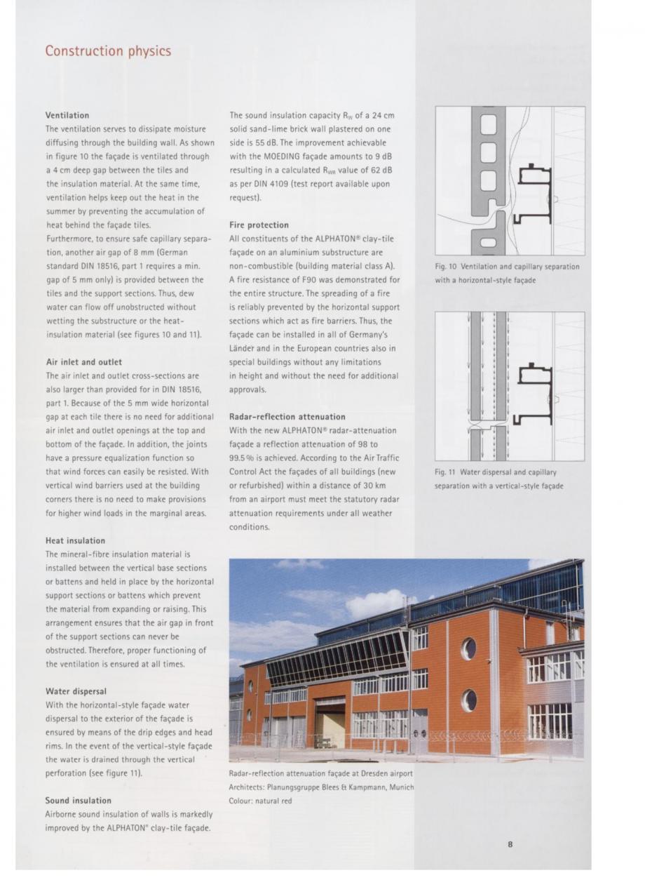 Pagina 5 - Fisa tehnica Sisteme de placaje ceramice pentru fatada ALPHATON ALPHATON Placi ceramice,...
