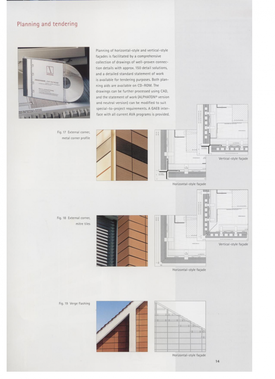 Fisa tehnica Sisteme de placaje ceramice pentru fatada ALPHATON ALPHATON Placi ceramice, teracota pentru placaje uscate exterioare GIBB TECHNOLOGIES  - Pagina 7