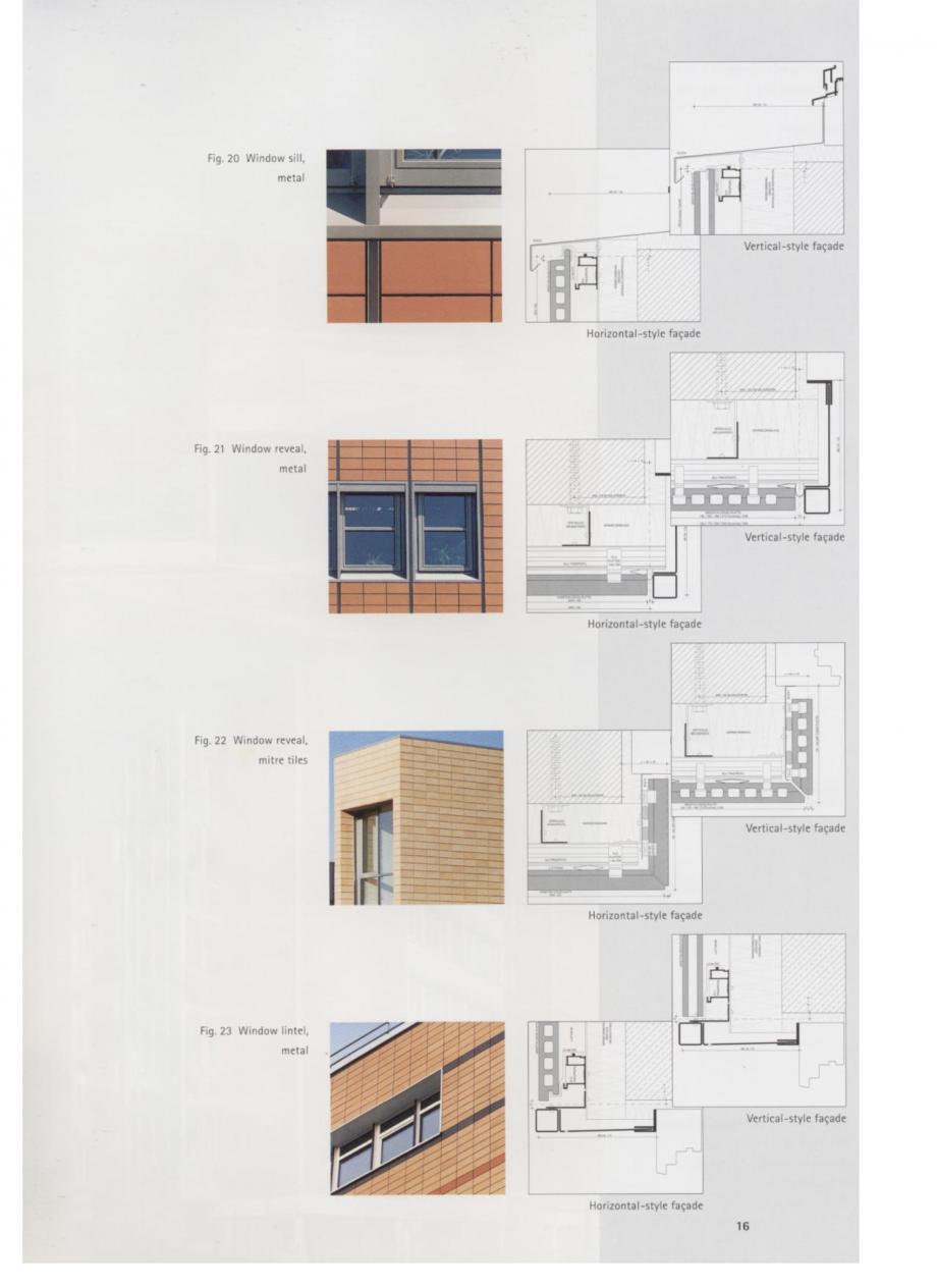 Pagina 8 - Fisa tehnica Sisteme de placaje ceramice pentru fatada ALPHATON ALPHATON Placi ceramice,...