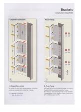Sisteme de fixare din aluminiu pentru placaje uscate exterioare EUROFOX