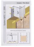 Sisteme de fixare pentru fatade ventilate cu placaj ceramic EUROFOX - MacFOX